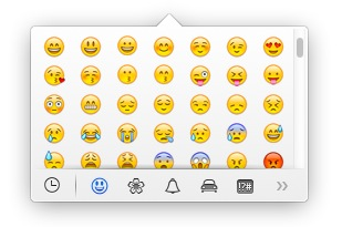 Inserire Emoticon Con Os X Mavericks Luca Cattaneo Photo Blog